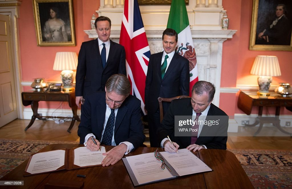 State Visit Of The President Of United Mexican States - Day 2 : News Photo