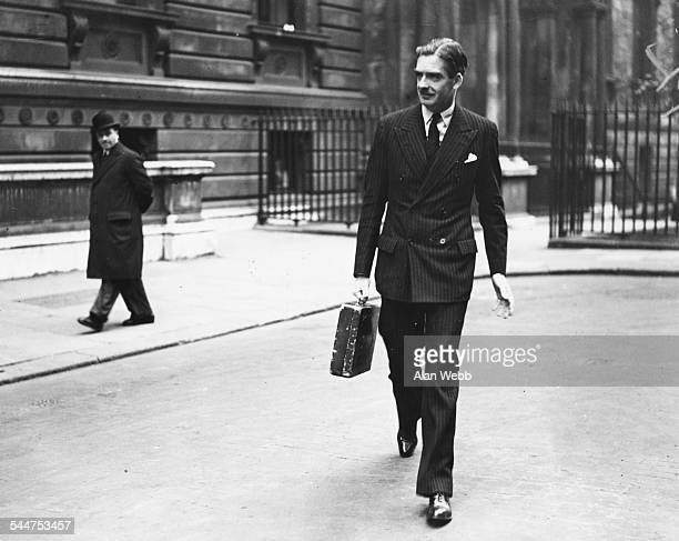 Foreign Secretary Sir Anthony Eden leaving the Foreign Office to attend the King's levee at Buckingham Palace London February 4th 1937