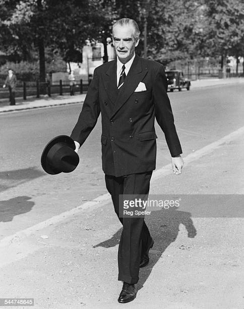 Foreign Secretary Sir Anthony Eden walking along Horse Guards Parade on the way to his office London October 5th 1953