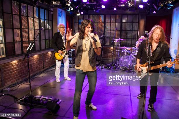 Foreigner appears on the TV show PRIVATE SESSIONS on August 24 2008 in New York City