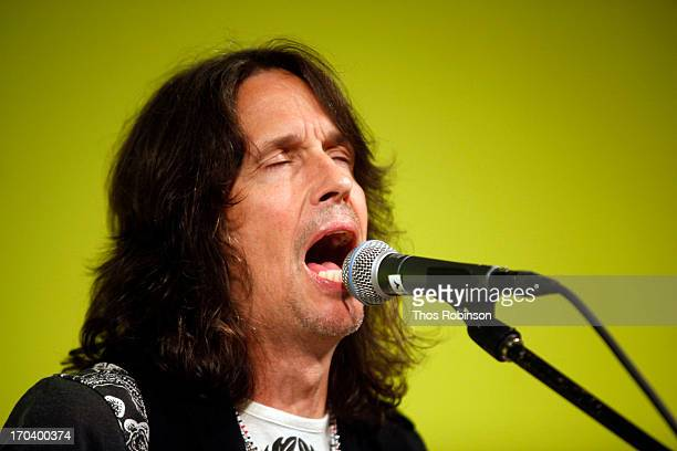 Foreigner band member Kelly Hansen attends Private Foreigner Performance On The Eve Of Mick Jones' Songwriters Hall of Fame Induction At The Offices...