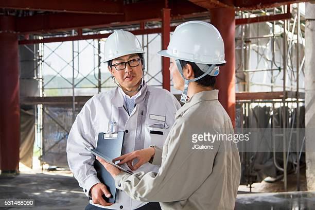 ・フォーマン、エンジニアを見ている、デジタルタブレット