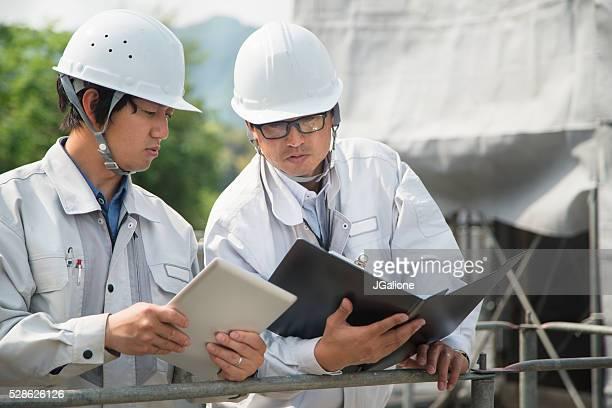 フォアマン氏は、建設作業員建物のサイト