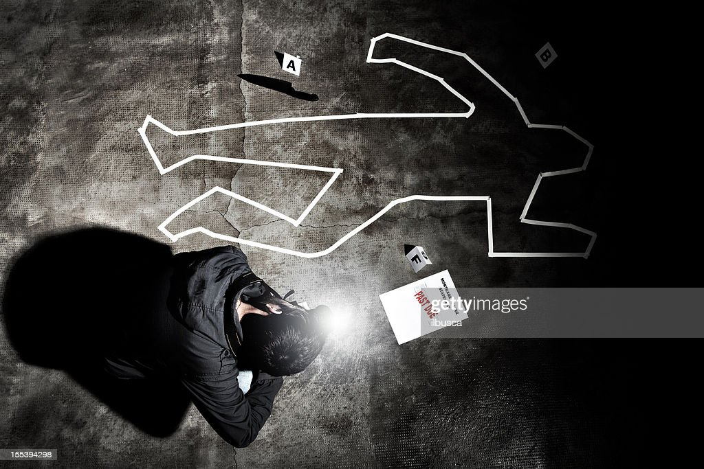 Forensic Crime Scene Photographer In Action Stock Photo | Getty Images