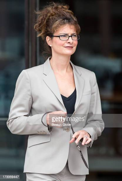 Forensic dentist Dr Kathleen Crowley leaves the courthouse The trial of James Whitey Bulger continues at the John Joseph Moakley United States...