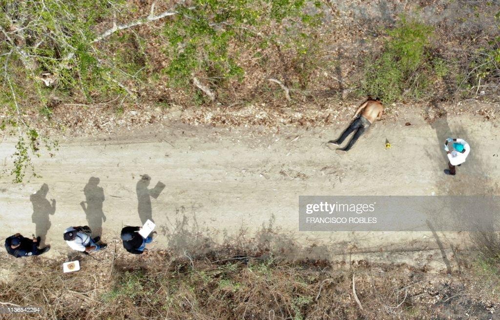 TOPSHOT-MEXICO-VIOLENCE-CRIME-RECORD : Nachrichtenfoto
