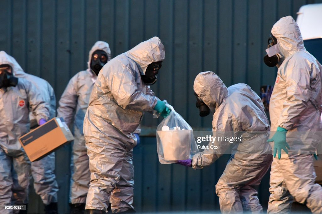 Police Continue To Investigate Poisoning Of Sergei Skripal In Salisbury : ニュース写真