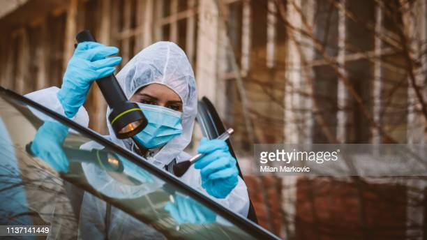 forensic science - criminal investigation stock pictures, royalty-free photos & images