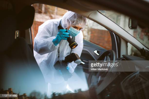 forensic science - detective stock pictures, royalty-free photos & images