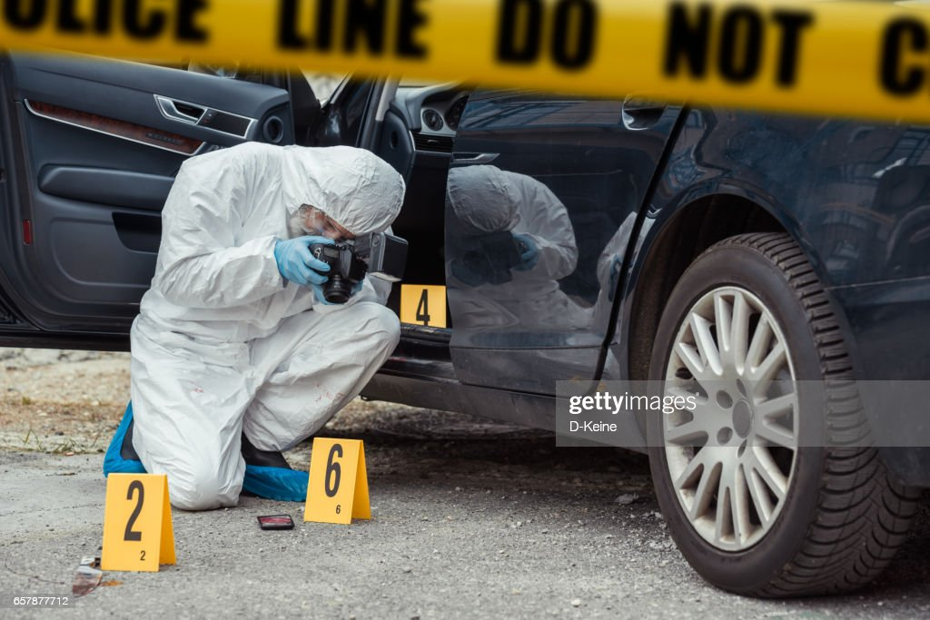 Forensic Science : Stock Photo