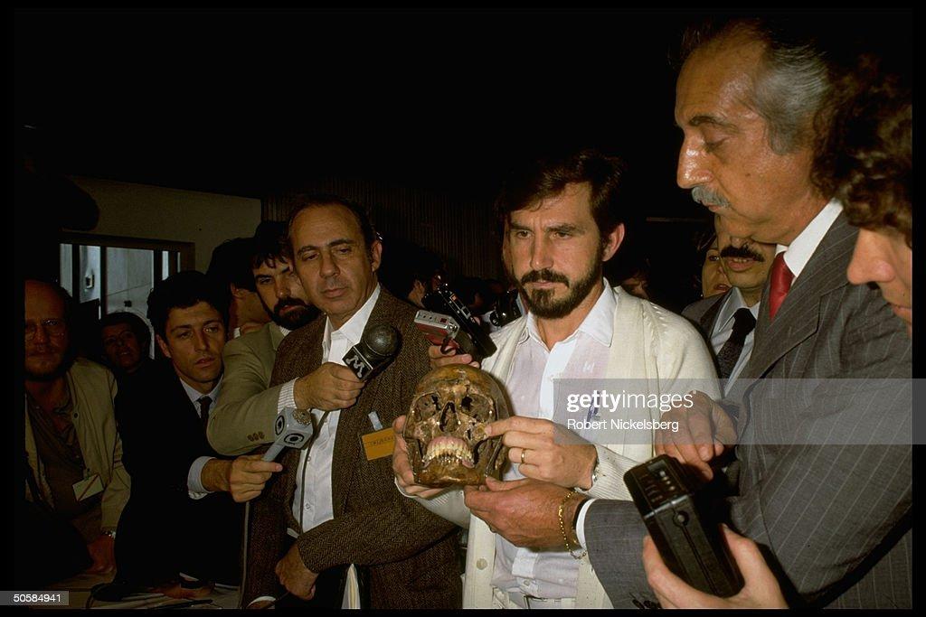 Josef Mengele [Death];Munoz Daniel Romero : News Photo