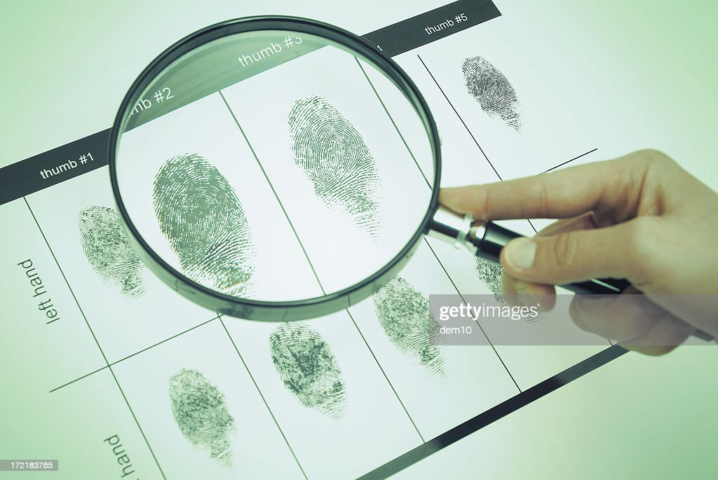 Forensics Science : Stock Photo