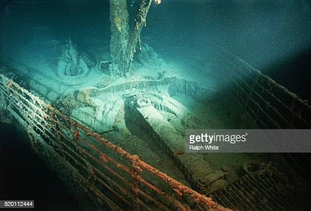 Forepeek of Titanic Shipwreck