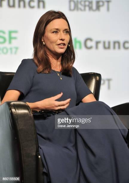 Forerunner Ventures Founder Kristen Green speaks onstage during TechCrunch Disrupt SF 2017 at Pier 48 on September 20 2017 in San Francisco California