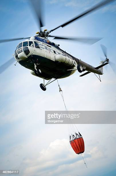 forest fire fighting - helicopter photos stock pictures, royalty-free photos & images