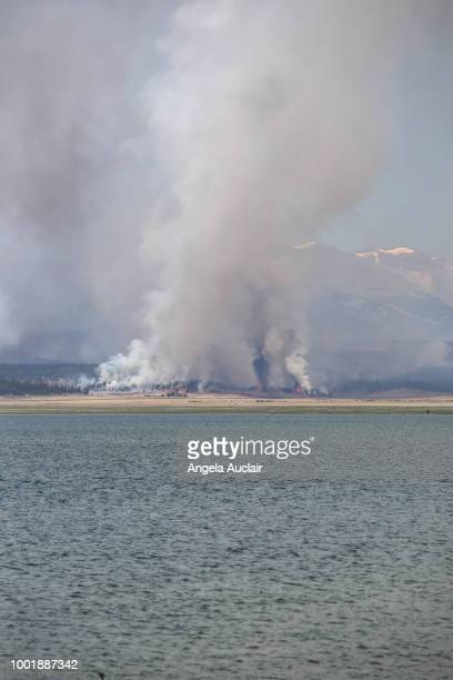 Forest Fire in Summit County, Colorado