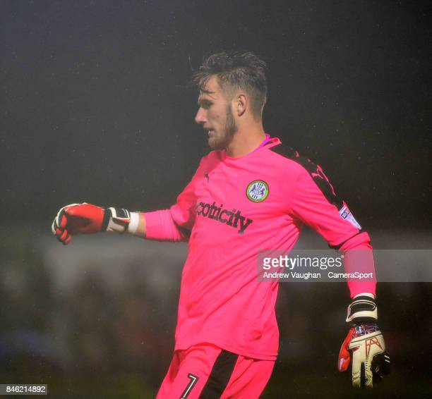 Forest Green Rovers' Bradley Collins during the Sky Bet League Two match between Forest Green Rovers and Lincoln City at The New Lawn on September 12...