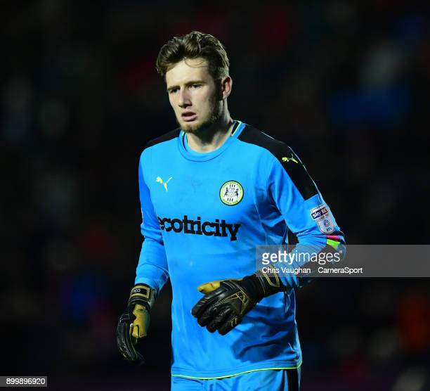 Forest Green Rovers' Bradley Collins during the Sky Bet League Two match between Lincoln City and Forest Green Rovers at Sincil Bank Stadium on...