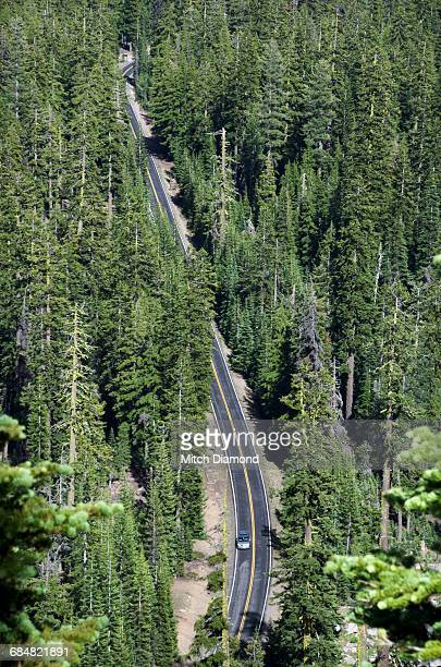 forest highway - medford oregon stock photos and pictures