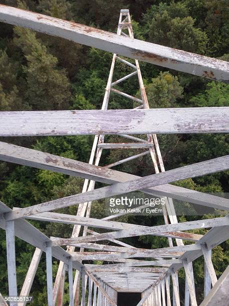 forest seem from lookout tower - lookout tower stock pictures, royalty-free photos & images