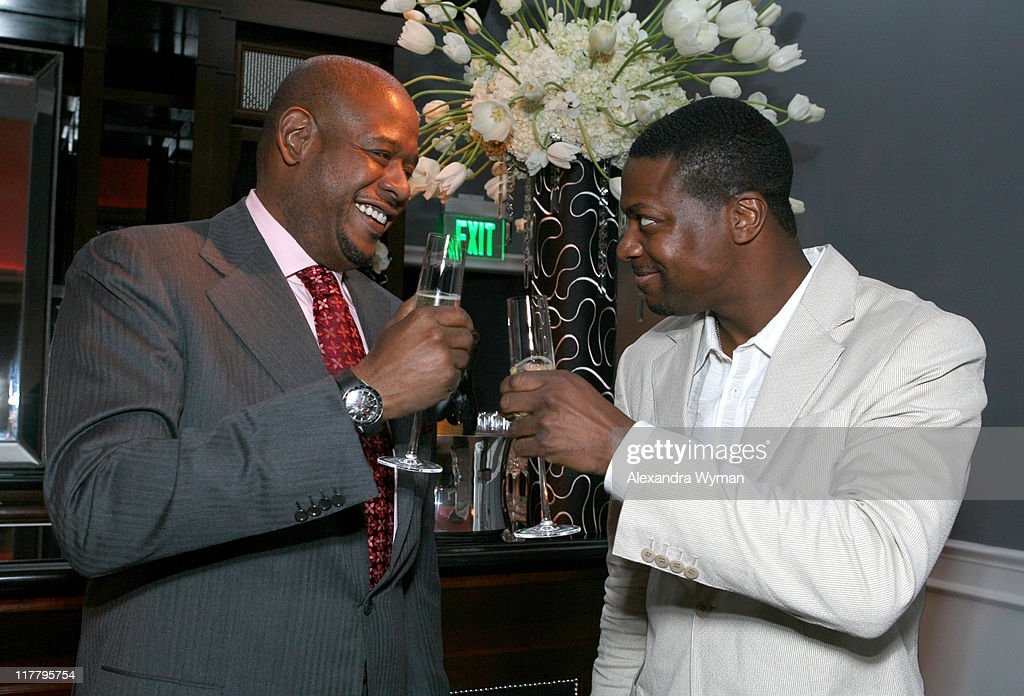 Forest Whitaker and Chris Tucker during Dom Perignon Celebration for Forest Whitaker - February 27, 2007 at Boulevard3 in Hollywood, California, United States.