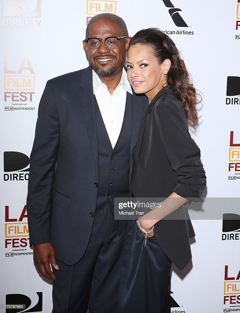 Forest Whitaker (L) and Keisha Whitaker arrive at the 2013 Los Angeles Film Festival 'Fruitvale Station' premiere held at Regal Cinemas L.A. LIVE Stadium 14 on June 17, 2013 in Los Angeles, California.
