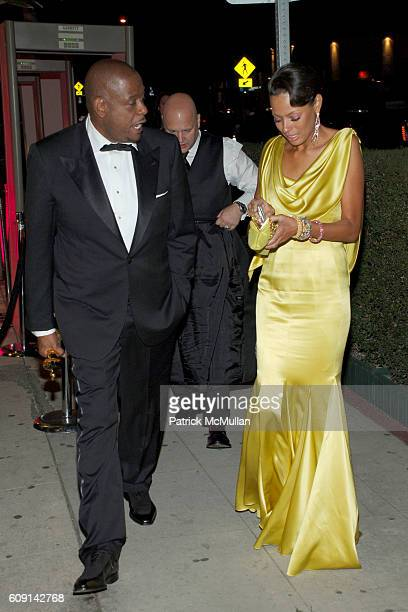 Forest Whitaker and Keisha Whitaker attend VANITY FAIR Oscar Party at Morton's on February 25, 2007 in Los Angeles, CA.