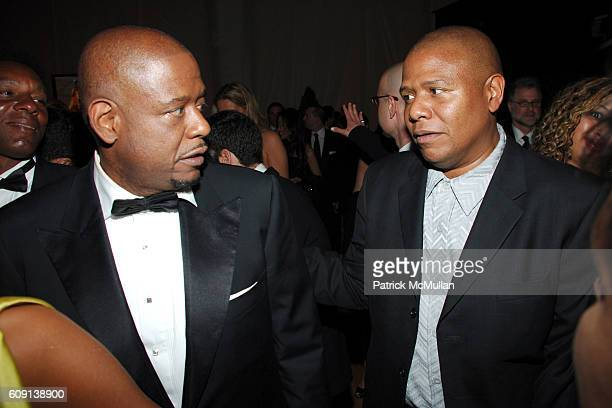 Forest Whitaker and Kenn Whitaker attend VANITY FAIR Oscar Party at Morton's on February 25 2007 in Los Angeles CA