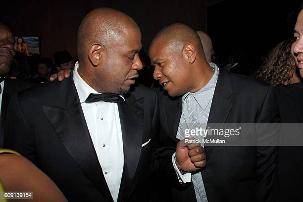 Forest Whitaker and Kenn Whitaker attend ; VANITY FAIR Oscar Party at Morton's on February 25, 2007 in Los Angeles, CA.