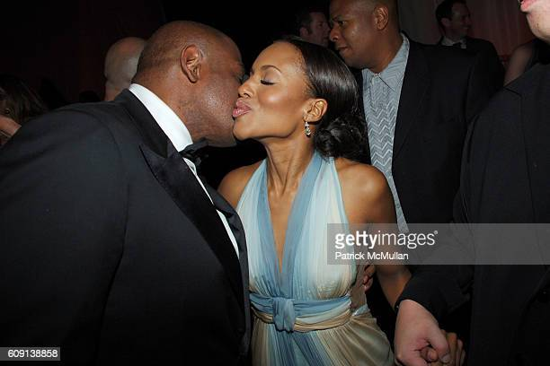 Forest Whitaker and Kerry Washington attend ; VANITY FAIR Oscar Party at Morton's on February 25, 2007 in Los Angeles, CA.
