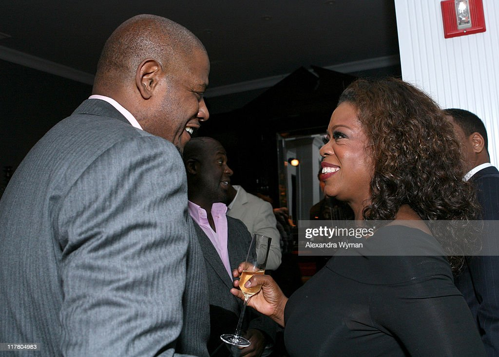 Forest Whitaker and Oprah Winfrey during Dom Perignon Celebration for Forest Whitaker - February 27, 2007 at Boulevard3 in Hollywood, California, United States.