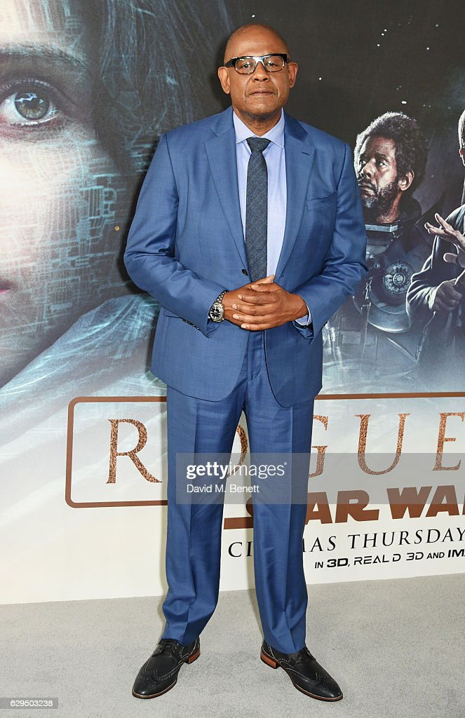 Forest Whitaker attends a fan screening of 'Rogue One: A Star Wars Story' at the BFI IMAX on December 13, 2016 in London, England.