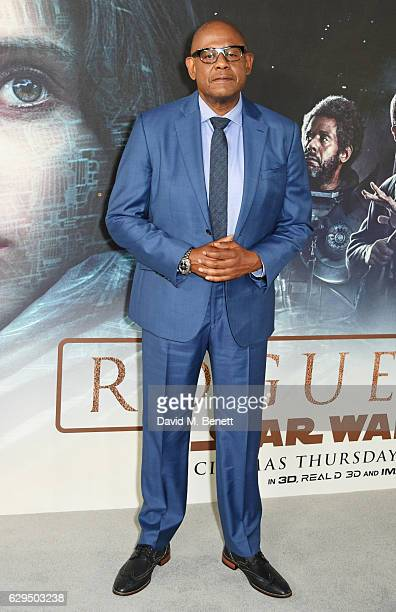 Forest Whitaker attends a fan screening of Rogue One A Star Wars Story at the BFI IMAX on December 13 2016 in London England