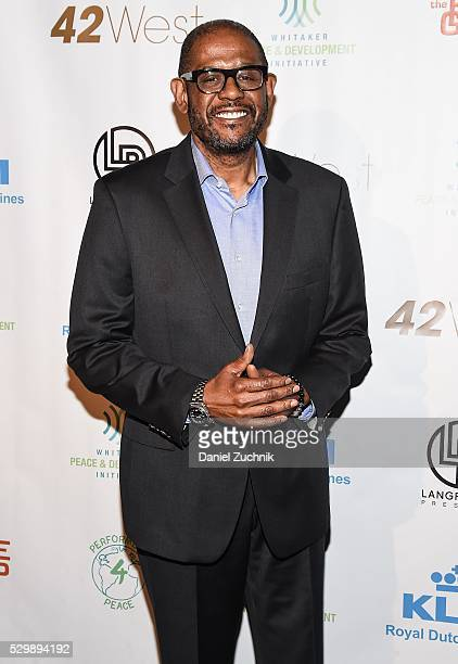 Forest Whitaker attends the 2016 Performers4Peace Benefit Concert on May 09 2016 in New York New York