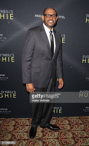 Forest Whitaker attends the Broadway Opening Night performance press reception for 'Hughie' starring Forest Whitaker at the Booth Theater on February...