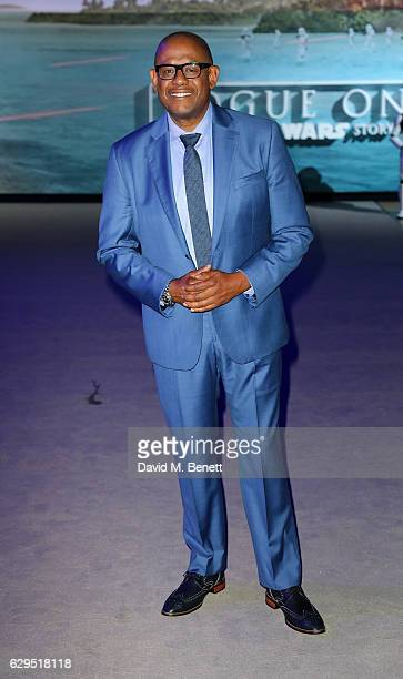 Forest Whitaker attends the launch event for 'Rogue One A Star Wars Story' at the Tate Modern on December 13 2016 in London England