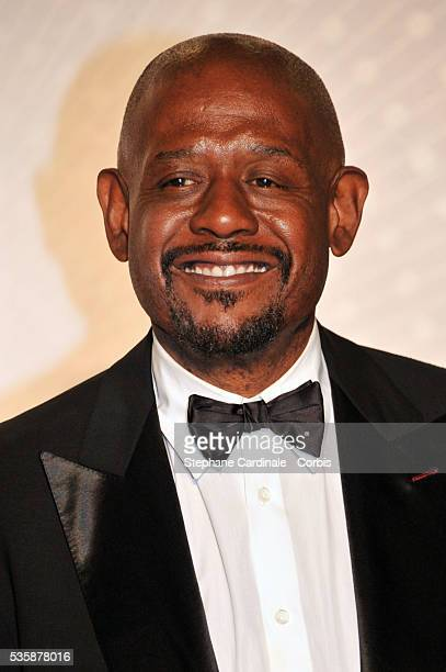 Forest Whitaker attends the 'Palme D'Or Winners dinner' during the 66th Cannes International Film Festival