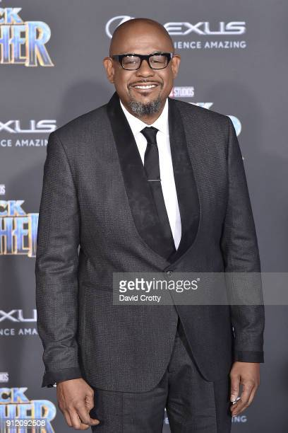 Forest Whitaker attends the Premiere Of Disney And Marvel's 'Black Panther' Arrivals on January 29 2018 in Hollywood California