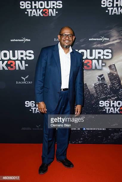 Forest Whitaker attends the premiere of the film '96 Hours Taken 3' at Zoo Palast on December 16 2014 in Berlin Germany