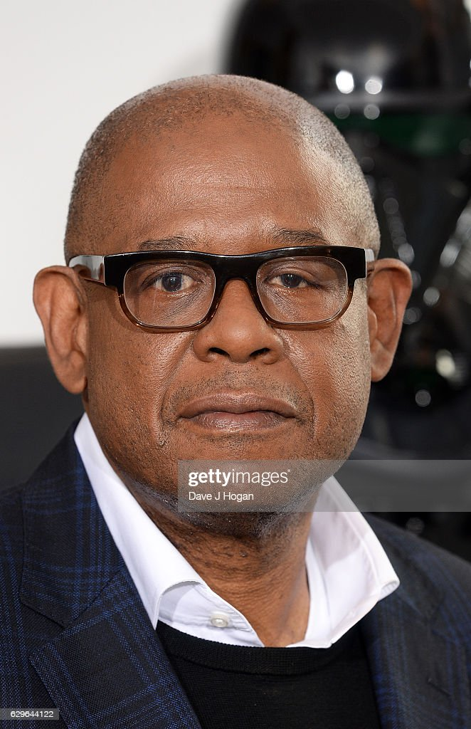 Forest Whitaker attends the 'Rogue One: A Star Wars Story' photocall at The Corinthia Hotel on December 14, 2016 in London, England.