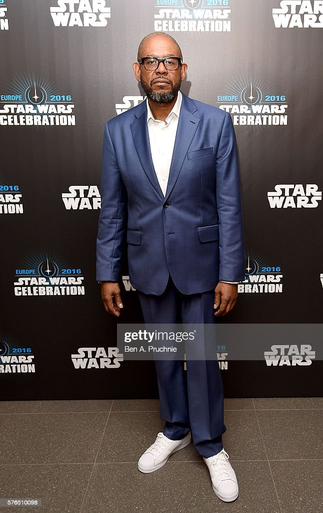 Forest Whitaker attends the Star Wars Celebration 2016 at ExCel on July 15, 2016 in London, England.