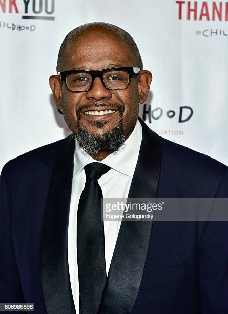 Forest Whitaker attends the World Childhood Foundation USA Thank You Gala 2016 at Cipriani 42nd Street on September 16 2016 in New York City