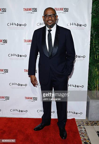 Forest Whitaker attends World Childhood Foundation USA Thank You Gala 2016 at Cipriani 42nd Street on September 16 2016 in New York City