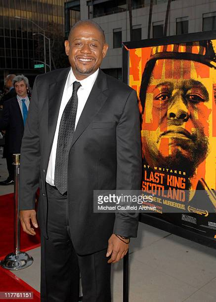 Forest Whitaker during Fox Searchlight Pictures Presents the Los Angeles Premiere of The Last King of Scotland at Academy of Motion Picture Arts...