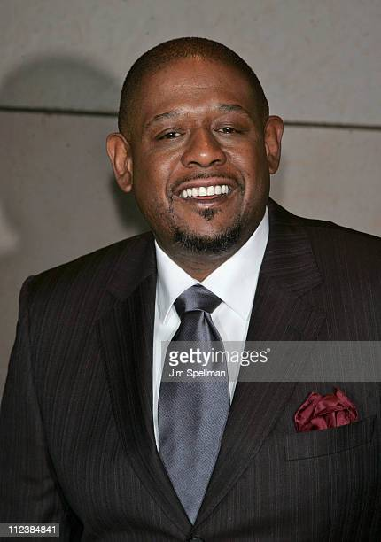 Forest Whitaker during The Film Society of Lincoln Center presents An Evening with Forrest Whitaker Arrivals at Walter Reade Theater in New York City...