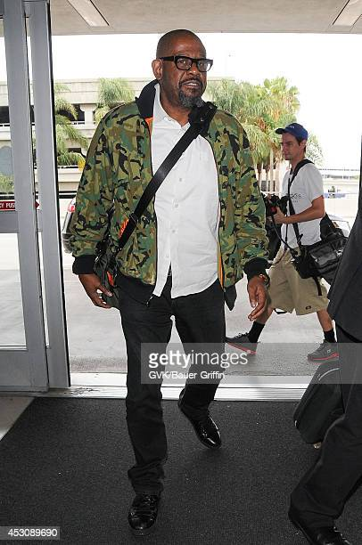 Forest Whitaker is seen at LAX on August 02 2014 in Los Angeles California