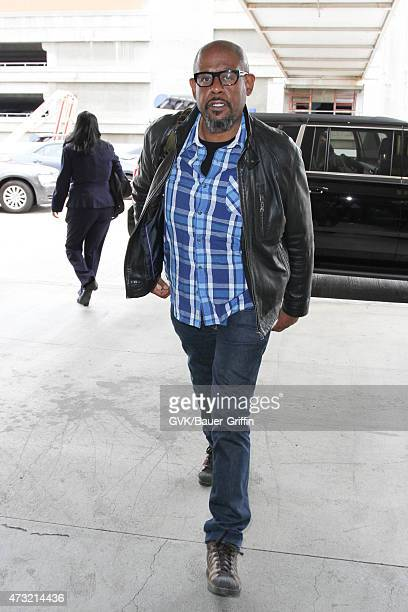 Forest Whitaker is seen at LAX on May 13 2015 in Los Angeles California