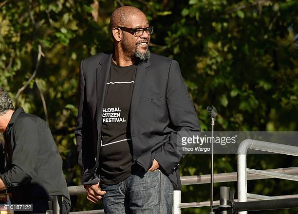 Forest Whitaker speaks onstage at the 2016 Global Citizen Festival In Central Park To End Extreme Poverty By 2030 at Central Park on September 24...