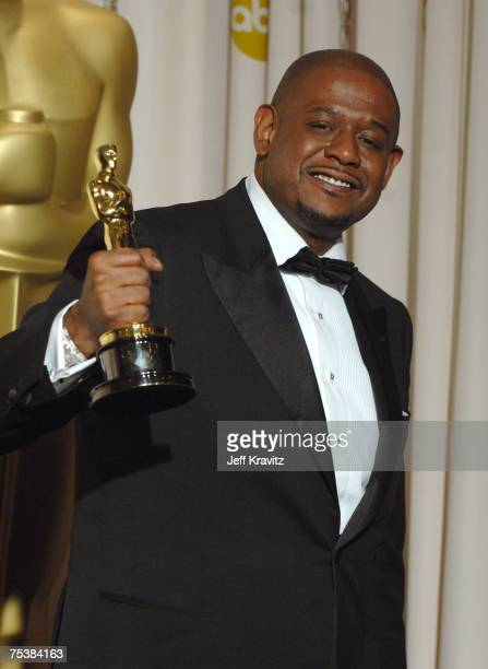 Forest Whitaker, winner Best Actor in a Leading Role for ?The Last King of Scotland?