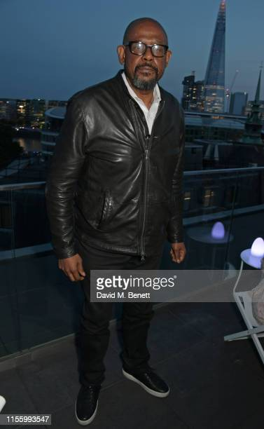 Forest Whittaker attends the launch of 'The Residence', the new rooftop bar at The Four Seasons Hotel London At Ten Trinity Square, on July 16, 2019...